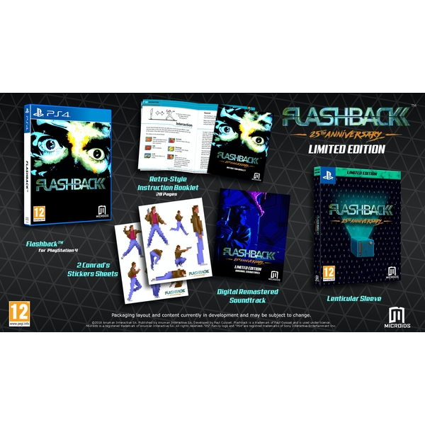 Flashback Limited Edition PS4 Game - Image 2