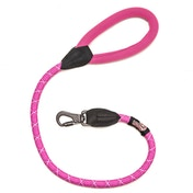 Long Paws Comfort Collection Rope Lead 75cm / 30in Pink