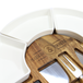 Acacia Round Cheese Board & Knives Set | M&W - Image 6