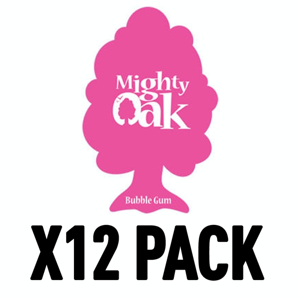 Bubblegum (Pack Of 12) Mighty Oak Air Freshener