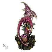 New Life Dragon Purple Dragon Dragonling Light Up Ornament
