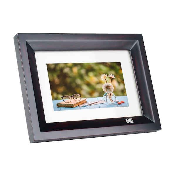 "Kodak Hi Resolution 1024 x 600 7"" Digital Photo Frame - Black"