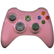 Wireless Controller In Baby Pink (Bagged) Xbox 360