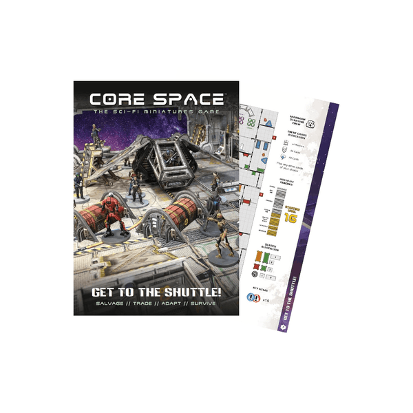 Core Space Expansion: Get to the Shuttle