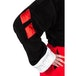 Harley Quinn DC Comics Black and Red Fleece Robe with Hood - Image 4