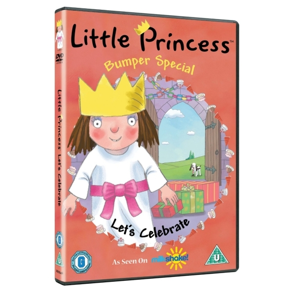 Little Princess Let\'s Celebrate DVD