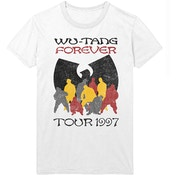 Wu-Tang Clan - Forever Tour '97 Men's Large T-Shirt - White