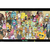 Rick and Morty Cast Maxi Poster
