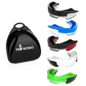 ProWorks Mouth Guard - Black/Red