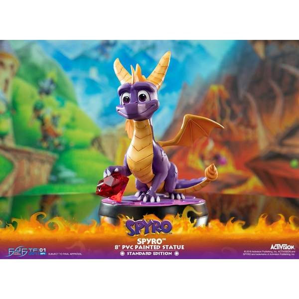 Spyro the Dragon (Spyro Reignited Trilogy) First 4 Figures 20cm PVC Statue - Image 1