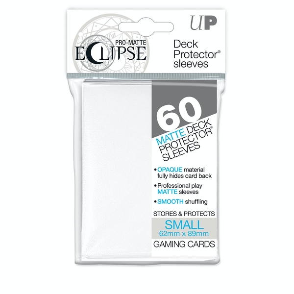 Ultra Pro Eclipse PRO-Matte White Small 60 Deck Sleeves (Case of 12)