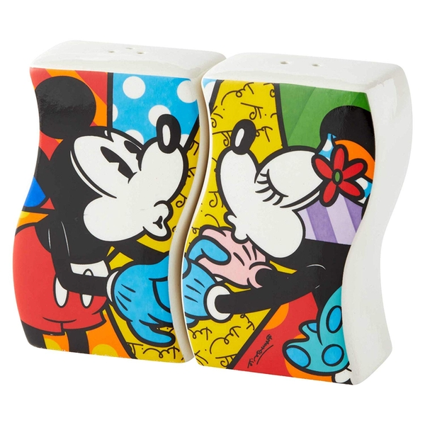 Mickey and Minnie Mouse Disney Britto Salt and Pepper Shakers