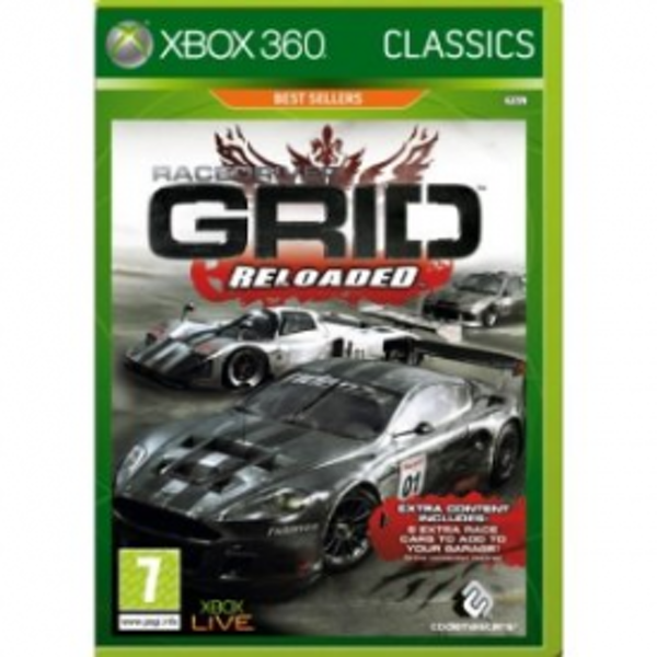 Race Driver GRID Reloaded Game (Classics) Xbox 360