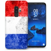 CASEFLEX SAMSUNG GALAXY S9 PLUS RETRO HOLLAND FLAG CASE / COVER (3D)
