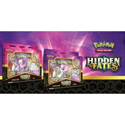 Pokemon TCG Hidden Fates Pin Collection Mewtwo/Mew (1 At Random)