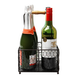 4 Bottle Holder with Wooden Handle | M&W - Image 4