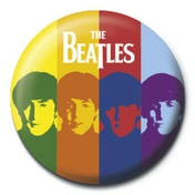 The Beatles - Stripes Badge
