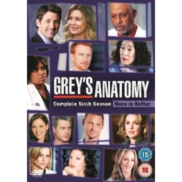 Grey's Anatomy Season 6 DVD