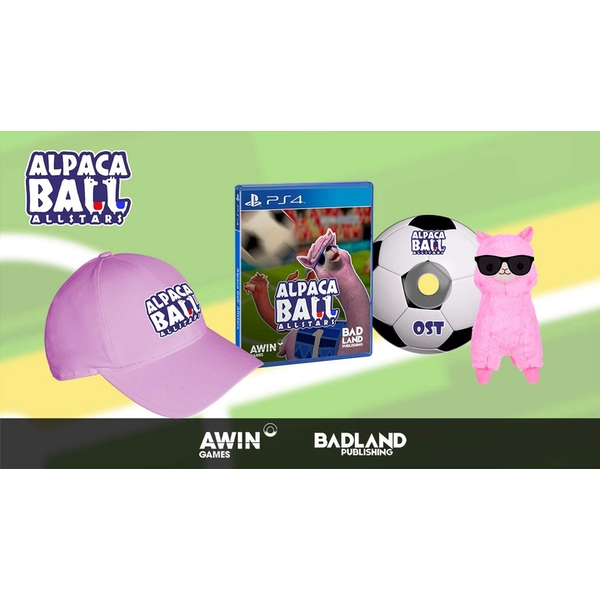 Alpaca Ball All-Stars Collector Edition PS4 Game