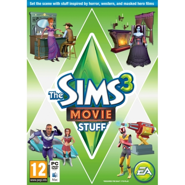 Sims 3 Movie Stuff Game PC
