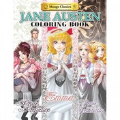 Jane Austen Coloring Book - Paperback