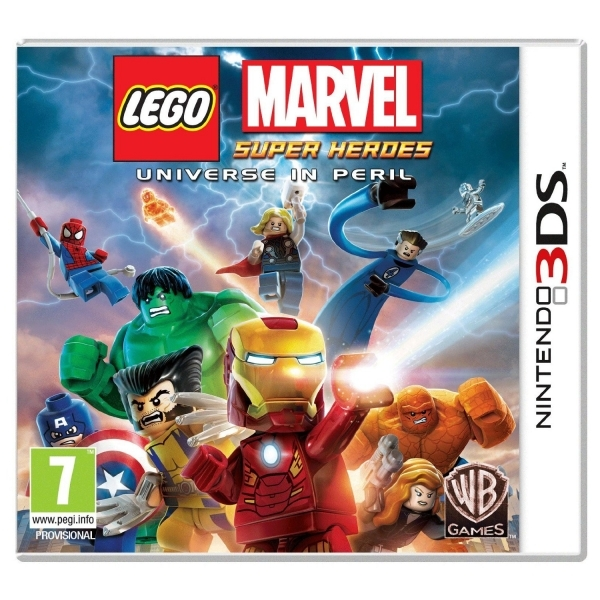 Lego Marvel Super Heroes Universe In Peril Game 3DS - Image 1