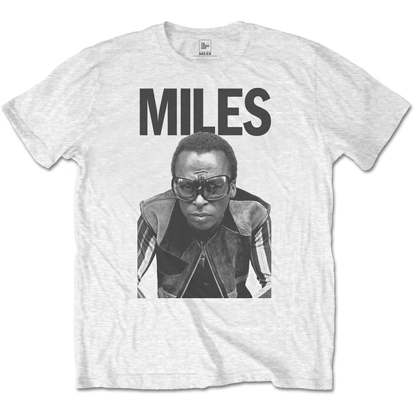 Miles Davis - Miles Men's Medium T-Shirt - White