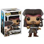 Ex-Display Jack Sparrow (Pirates of the Caribbean Dead Men Tell No Tales) Funko Pop! Vinyl Figure Used - Like New