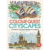 Colour Quest Cityscapes : 30 Extreme Colouring Challenges to Complete