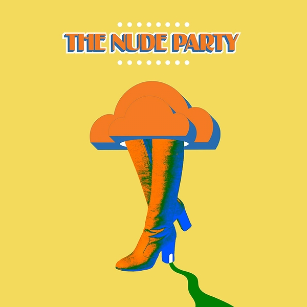 The Nude Party - The Nude Party Orange Vinyl
