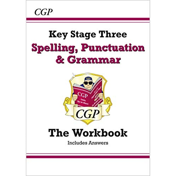Spelling, Punctuation and Grammar for KS3 - Workbook (with Answers) by CGP Books (Paperback, 2014)
