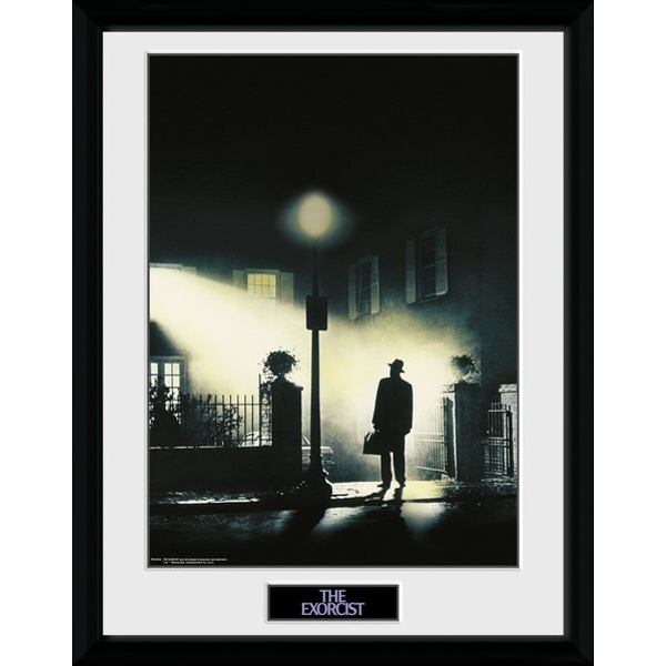 The Exorcist Framed Collector Print - Image 1