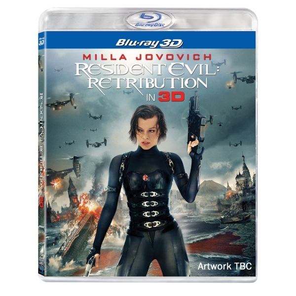 Resident Evil Retribution 3D Blu Ray