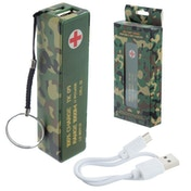 Camouflage Design Handy Portable USB Power Bank