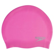 Speedo Moulded Silicone Cap Adult Pink