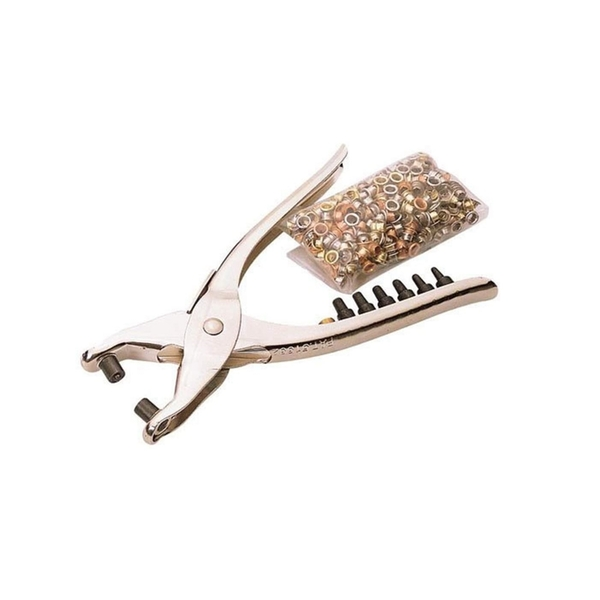 Draper Interchangeable Hole Punch and Eyelet Pliers 210mm