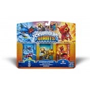 Zap, Catapult, and Hot Dog (Skylanders Giants) Scorpion Striker Battle Pack 2