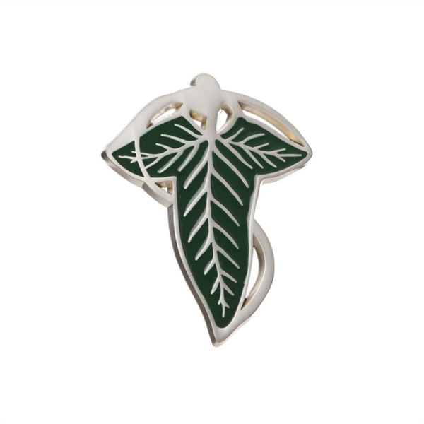 Lord Of The Rings - Lord Of The Rings Elven Leaf Enamel Pin Badge