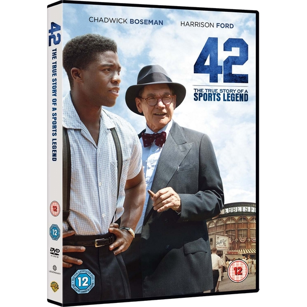 42: The True Story Of A Sports Legend DVD
