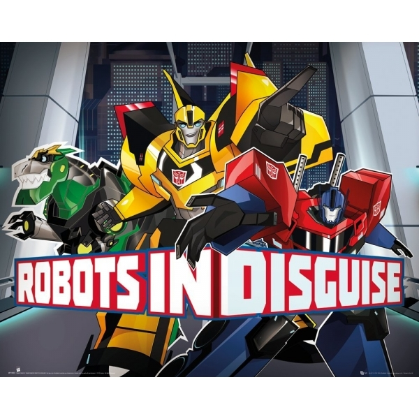 Transformers Robots in Disguise Mini Poster