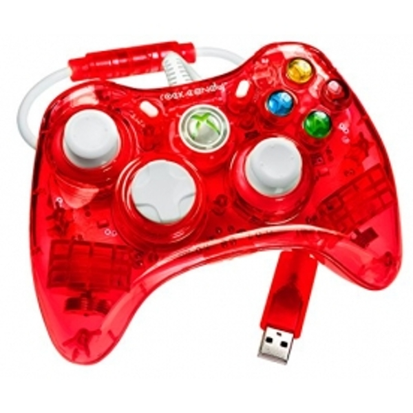 Officially Licensed Microsoft Rock Candy Controller Stormin Cherry Xbox 360 - Image 1