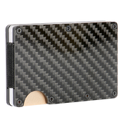 Carbon Fibre RFID Blocking Wallet | Pukkr