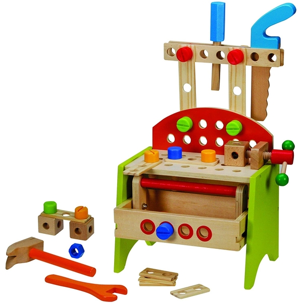 Wooden Work Bench Playset