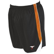 Precision Roma Shorts Junior Black/Tangerine/White - M/L Junior 26-28""