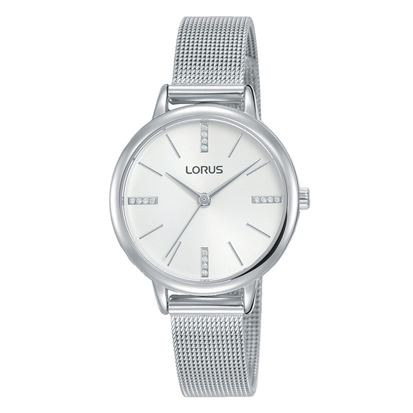 Lorus RG215QX9 Ladies Silver Mesh Bracelet Watch