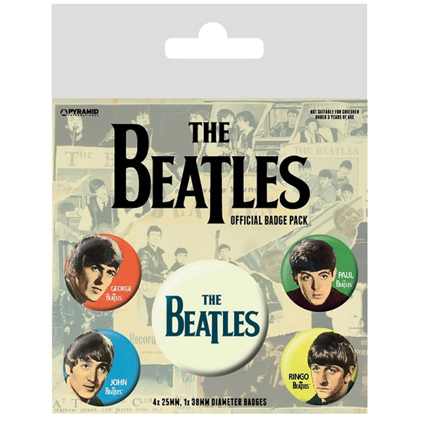 The Beatles - Band Badge Pack