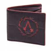 Assassin's Creed Unity Black Embossed Red Logo Bifold Wallet