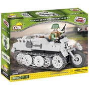 Cobi Small Army WWII Sdkfz 2 Kettenkrad HK Tank - 200 Toy Building Bricks
