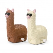 Thumbs Up! Wind-Up Racing Llamas