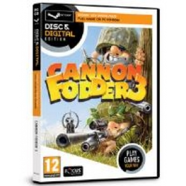 Focus Multimedia Cannon Fodder 3 Game Disc and Digital Edition for PC